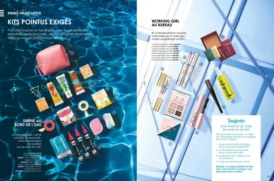 Conception-rédaction du magazine Sephora été 2017.