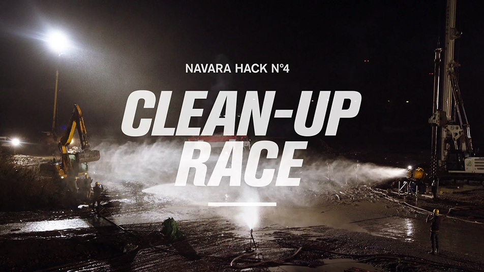 I conceived, wrote and led the creative on 'Navara Hacks', a campaign revealing new and unexpected ways to use a pick-up truck.