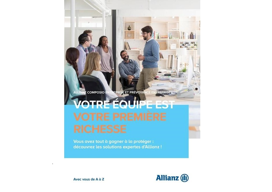 Conception-rédaction d'emails et de mailings pour Allianz.