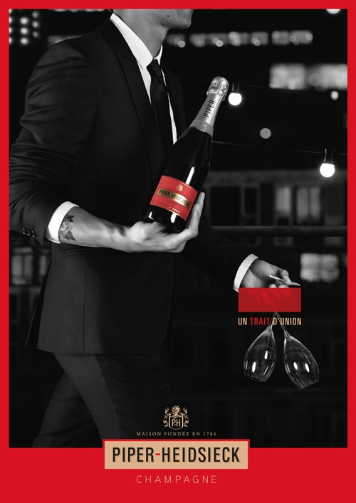 PIPER-HEIDSIECK // THE DASH OF SEDUCTION // Conception et direction artistique de la campagne print.