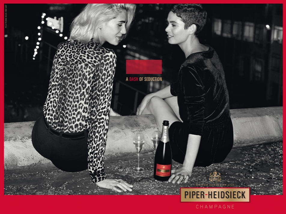 PIPER-HEIDSIECK - campagne de marque internationale -