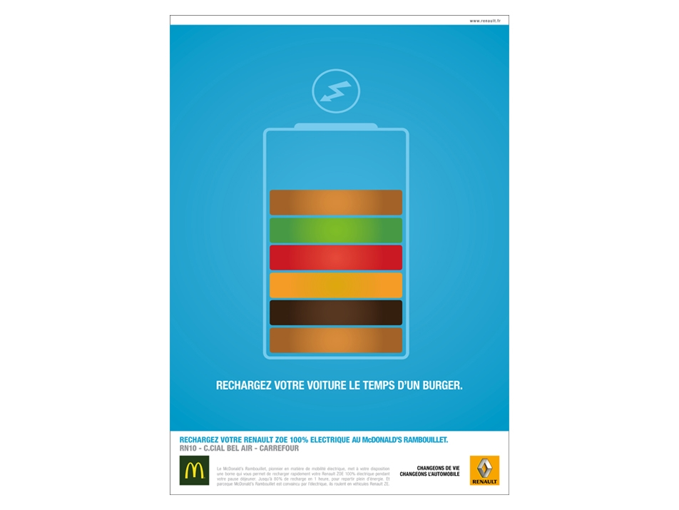 RENAULT + MCDONALD'S - PRINT & ACTIVATION DIGITALE