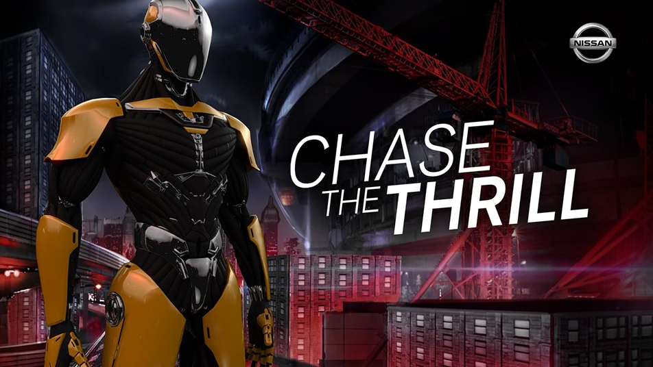 For Nissan I conceived and led the creative for Chase the Thrill, an innovative Virtual Reality installation.
