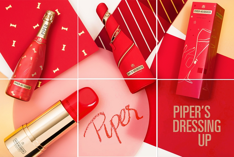 Piper Heidsieck - A dash of seduction, Instagram 2018