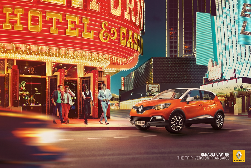 RENAULT - CAMPAGNE GAMME - 5 PRINTS